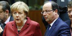 """Ecoutes de la NSA : Hollande et Merkel veulent """"en finir avec le temps de la guerre froide"""""""