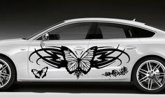 Butterflies Pattern Design Car Vinyl Side Graphics Decals N561 | eBay