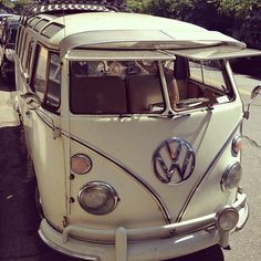 VW VAN! Will do a cross-country roadtrip in this soon. :)