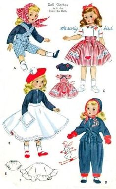 Vintage-15-Sweet-Sue-Toni-DOLL-Clothes-Pattern-1720