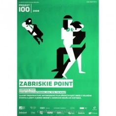 Zabriskie Point Czech poster
