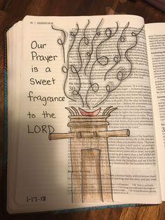 Exodus 29 Daily Scripture, Scripture Art, Bible Art, Bible Drawing, Bible Doodling, Bible Prayers, Bible Scriptures, Exodus Bible, Beautiful Word Bible