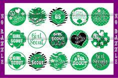 Girl Scouts BottleCap Images