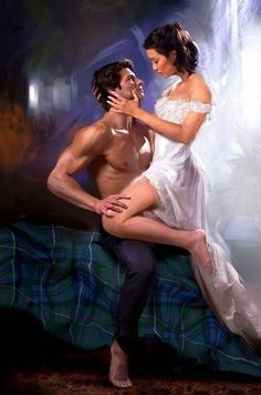 Cover Art by Jon Paul - stepback for Bride of a Wicked Scotsman (McBride Family…