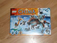 Lego Legends of Chima 70143 Sir Fangar's Saber-Tooth Walker NISB Sealed Set! #LEGO