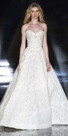 The Prettiest Spring 2017 Wedding Dresses from Bridal Fashion Week - Reem Acra from InStyle.com