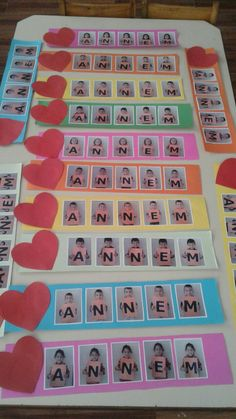 Anneler gunu Mothers Day Images, Mothers Day Crafts, Preschool Education, Preschool Crafts, Peach Rooms, Science For Kids, Kindergarten, Learning, Gifts