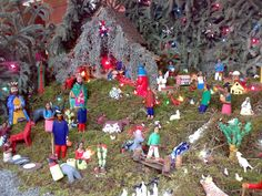 Nacimiento Mexicano. Mexican Nativity Scene.