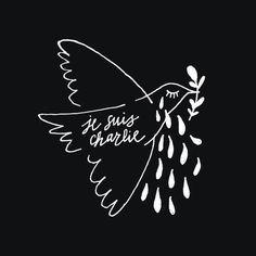 RT @FannyMistral #CharlieHebdo #JeSuisCharlie #Prisedotage // Belle colombe de la paix, inconsolable comme nous tous.