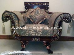 This is our solid classic rosewood sofa set. This sofa set is made in pure rosewood (sheesham) made in chiniot, Pakistan. This sofa set is handmade full of classic style carving. This sofa set is carved by our experience craftsman. This product is a valuable symbol of antique. This article can be customized on customer demand, for details you can contact us at info@sheikhsfurniture.com or  0092 315 7434547. www.facebook.com/sheikhsfurniture