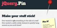 18 Best #JQuery #Plugins For Free #Download