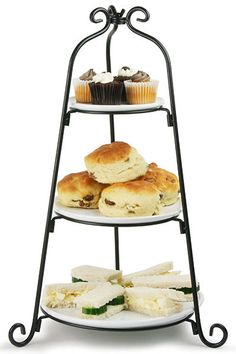 3 Tier Dema Wedding Birthday Party Cupcake Cake Muffin Bakery Stand Display