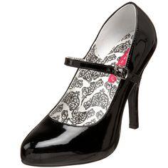 Kicks - Bordello by Pleaser Women's Tempt-35 Mary-Jane Pump $40.70 - $82.43