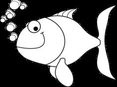 Fish black and white cute fish clip art black and white free clipart Fish Outline, Animal Outline, Fish Drawing For Kids, Fish Clipart, Black And White Cartoon, Cartoon Fish, Free Clipart Images, Cute Fish