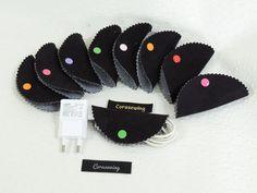 Range cable lot de 3 pour sac à main : Accessoires de maison par corasewing