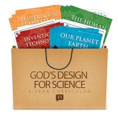 Answers in Genesis God's Design for Science bundle - giveaway at @Curriculum Choice along with 5 Days of Choosing Curriculum