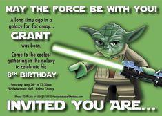Free Printable Lego Star Wars Invitations 2017
