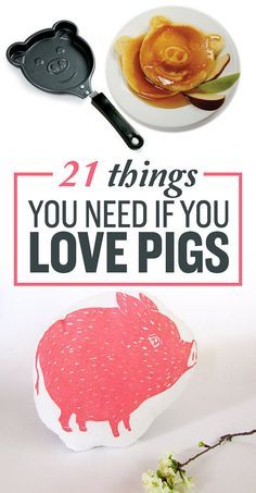 21 Things You Need If You Love Pigs