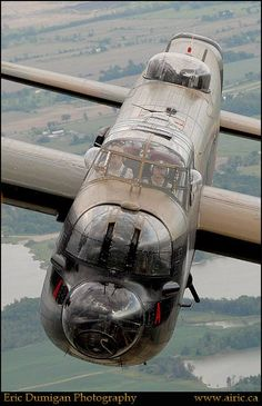RAF - AVRO LANCASTER CLOSE UP