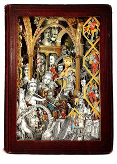 Alexander Korzer-Robinson, Old England 1869, 2017. Collage. 30x22