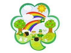 St. Patricks Day Sticker Sheet