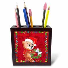 Edmond Hogge Jr Christmas - Teddy Bear Hanging Christmas…