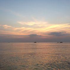 Sunset in Phu Quoc, Vietnam. Photo courtesy of chiqee on Instagram.