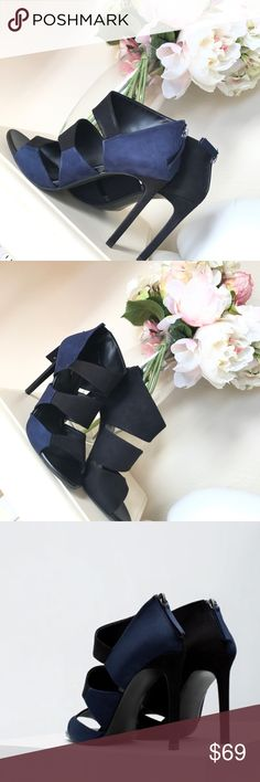 """Zara Two Tone high heels EUR size 38 -4.5"""" heel   NO TRADES  Offers via offer feature only ! 👍🏻  💗💗IG: iluvshoes22 💗💗  🎈🎈🎈15% off bundles 🎈🎈🎈 Zara Shoes"""
