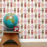 Aimee Wilder | Robots Red - behind a shelf