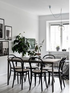 my scandinavian home: Small space inspiration from a Swedish home