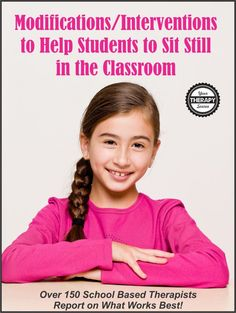 The #1 Intervention to Help Students to Sit Still in the Classroom...