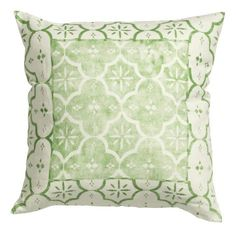 Everyone will be green with envy after they see your St. Patrick's Day decorations, starting with this clover clad pillow.