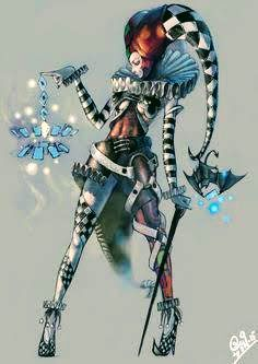 Fantasy Character Design, Character Concept, Character Inspiration, Character Art, Concept Art, Dnd Characters, Fantasy Characters, Female Characters, Joker And Harley
