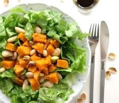 Delicious sweet and savory spring salad.