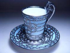Coalport  1891-1920 Tea Cup Set, My Cup Of Tea, Cup And Saucer Set, Tea Cup Saucer, Tea Sets, Vases, Silver Tea Set, Teapots And Cups, Teacups