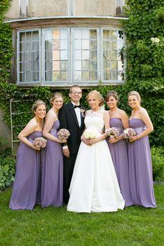 Wedding Party Photos, purple bridesmaid dresses - PHOTO SOURCE • CANDACE JEFFERY PHOTOGRAPHY