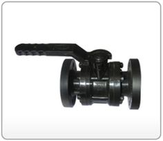 PP 3 Piece Flange End Ball Valve