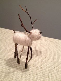 Great idea for a whole series of Christmas animals... I just know our studio are going to have a field day with this idea!!