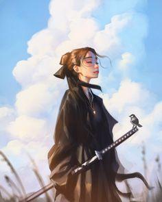 Fantasy Character Design, Character Art, Pretty Art, Cute Art, Aesthetic Art, Aesthetic Anime, Anime Krieger, Digital Art Girl, Cartoon Art Styles