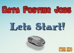 data posting jobs review and start it
