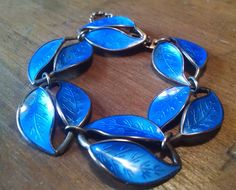 Vintage David Anderson Bracelet Sterling by FillaDeeGree on Etsy