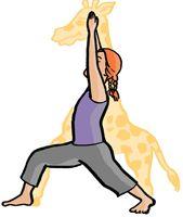 Žirafa - joga