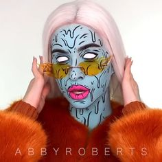 Melting Bad Bitch Melting Bad Bitch,Kunst from Abby Roberts Melting bad bitch Inspired by the queeeen Desiree Perkins! Desi was inspired by Richie Velazquez too!💖 Song: Hoezay Flores pumped up kicks vapourware remix. Halloween Makeup For Kids, Amazing Halloween Makeup, Kids Makeup, Halloween 2020, Movie Makeup, Crazy Makeup, Cute Makeup, Pumpkin Halloween Costume, Diy Halloween