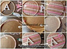 Embroidery Hoop Crafts, Embroidery Art, Cross Stitch Embroidery, Handmade Crafts, Diy And Crafts, Arts And Crafts, Diy Dream Catcher Tutorial, Wedding Cross Stitch Patterns, Diy Y Manualidades