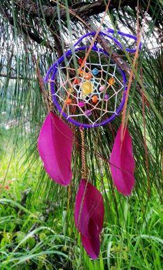 dream catcher necklace Dream Catcher Necklace, Plant Hanger, Macrame, Plants, Garden, Home Decor, Garten, Planters, Interior Design