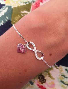 "Silver Infinity Bracelet ""Forever With Me"" - KAYA jewellery UK"