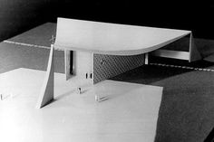 © oscar niemeyer - our lady from fatima church - brasilia,...