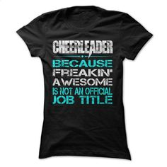 Cheerleader Girls T Shirts, Hoodies, Sweatshirts - #free t shirt #designer hoodies. ORDER NOW => https://www.sunfrog.com/Sports/Cheerleader-Girls.html?id=60505