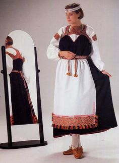 FolkCostume&Embroidery: Overview of the Folk Costumes of Europe, Finnish