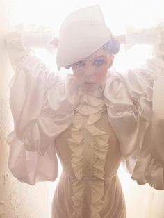 Siri Tollerod photographed by Sølve Sundsbø and styled by Patti Wilson